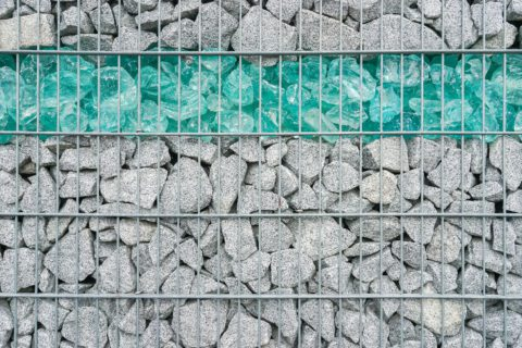 La clôture gabion ou le mur en pierre grillagé ? | Paysagiste.info