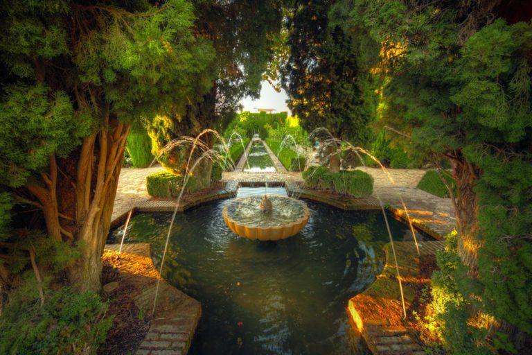 Aménager un jardin islamique