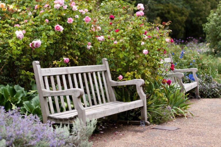 Aménagement de jardin romantique