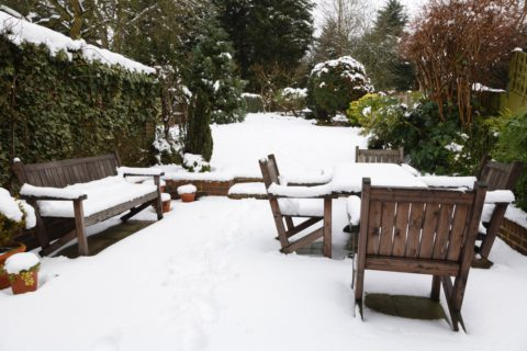 Préserver son salon de jardin en hiver