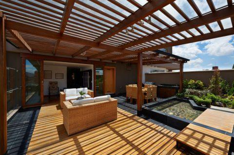 Les avantages d'une pergola en bois