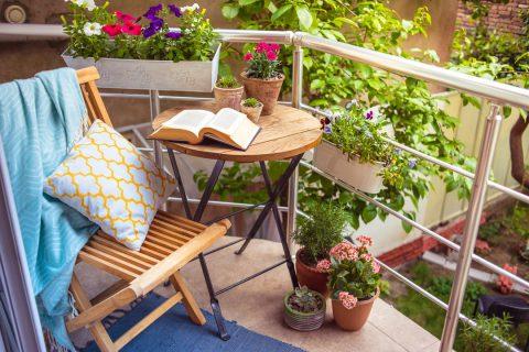 petit jardin balcon