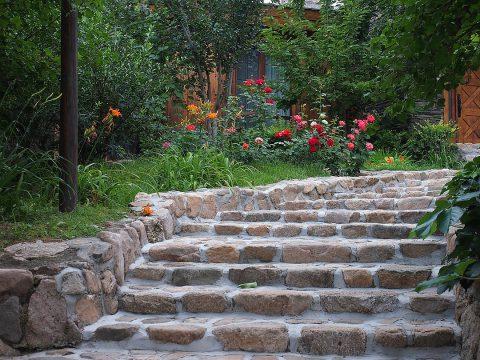 Réaliser un escalier de jardin