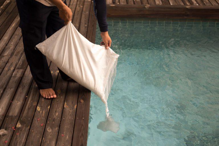 piscine au sel