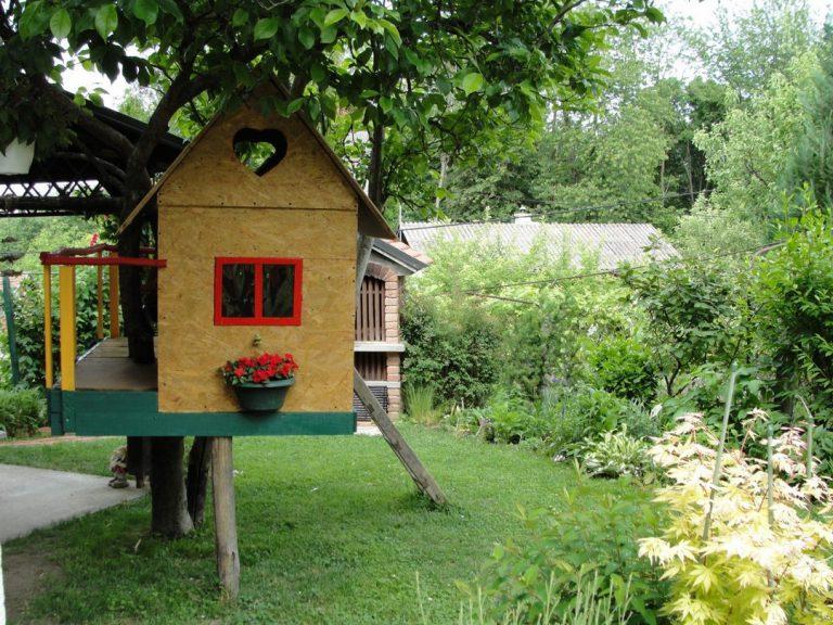 Le mobilier de jardin pour enfants