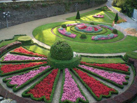 Les différents styles de jardins européens