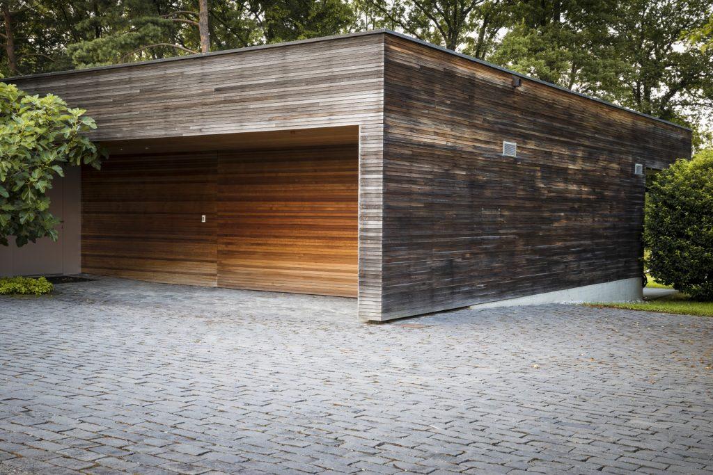 allée de garage carrossable en pavés
